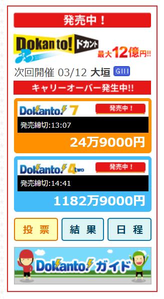Dokanto!4two(ドカント4)キャリオーバーが1000万円超えてきたぞ