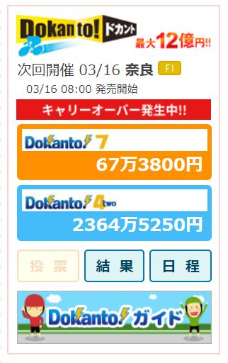 ドカントキャリオーバー2000万円越え