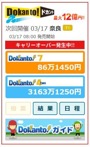 ドカント4キャリオーバー3000万円超え